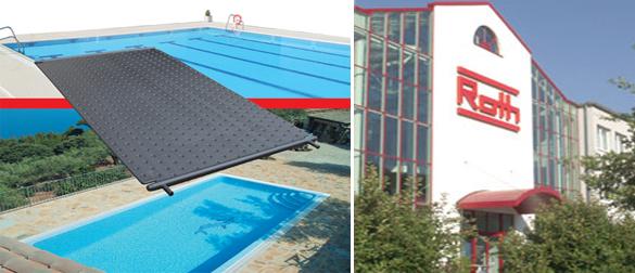 Rothpool, captador solar para piscinas