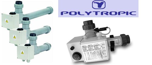 Calentador el ctrico para piscinas polytropic la web de - Calentador de agua piscina ...