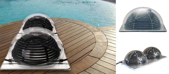 Colector solar para piscinas sistema de calefacci n for Calefactor para piscina