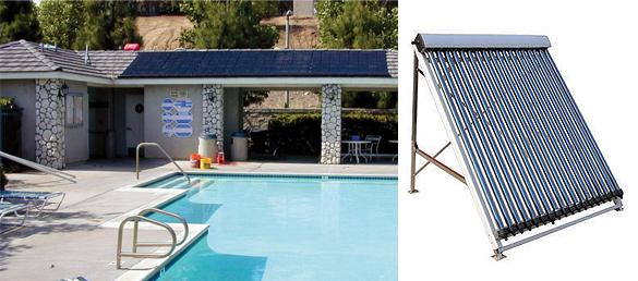 La climatizaci n solar en piscinas la web de la climatizaci n para piscinas - Calentadores solares para piscinas ...