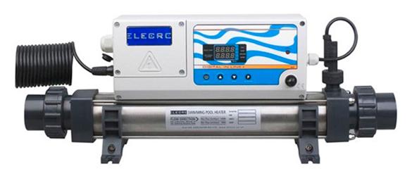 Calentador eléctrico en línea con regulación digital