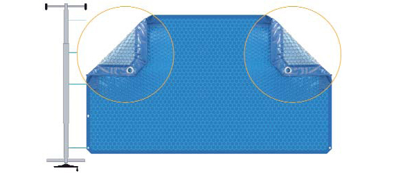 Como poner ojales en una cubierta de piscina